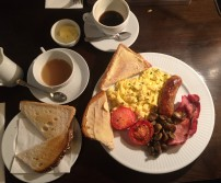 Full English from Coté in North London, Muswell Hill